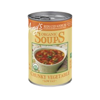 Amy's Kitchen Organic Chunky Vegetable Soup, Reduced Sodium