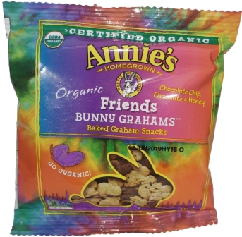 Annie's Organic Bunny Graham Friends Snacks