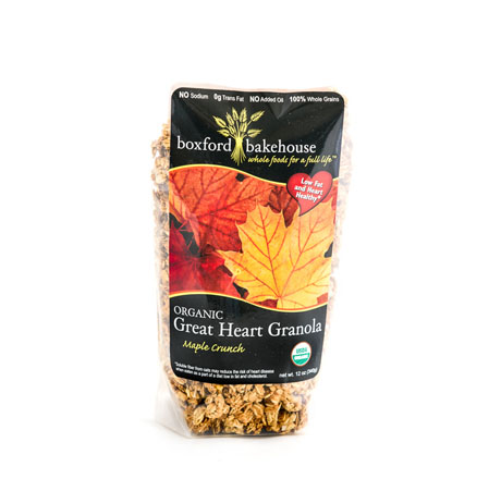 Boxford Bakehouse Organic Maple Crunch Granola
