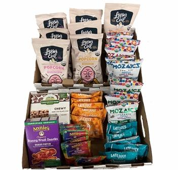 Organic Assorted Snacks Kit - Large