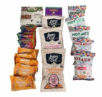 Organic Assorted Snacks Kit - Small