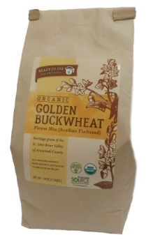 The Buckwheat Project Organic Golden Buckwheat Flatbread/Ployes Mix