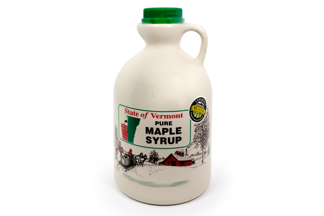 Dwight Miller and Son Organic Maple Syrup Grade A Dark, 1 pint