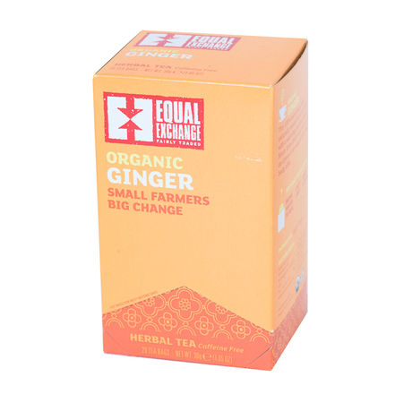 Equal Exchange Organic Ginger Tea