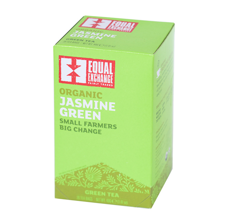Equal Exchange Organic Jasmine Green Tea