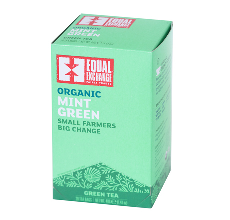 Equal Exchange Organic Mint Green Tea