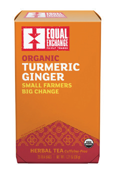 Equal Exchange Organic Turmeric Ginger Tea