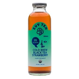 Evy Tea Organic Cold Brew Black Tea Strawberry