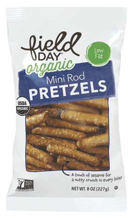 Field Day Organic Mini Rod Pretzels