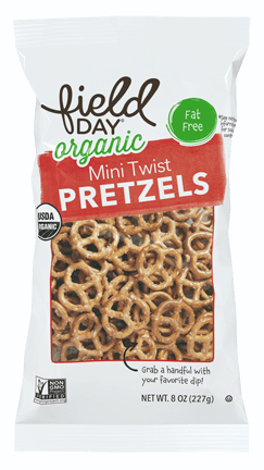 Field Day Organic Mini Twist Pretzels