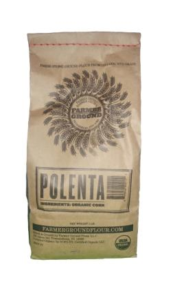 Farmer Ground Flour Organic Polenta