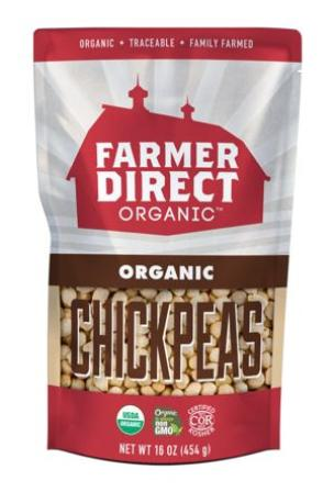 Farmer Direct Organic Dried Chickpeas