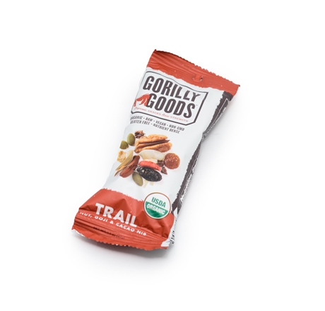Gorilly Goods Organic Fruit, Nut, & Seed Snack - Trail