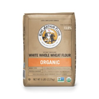 King Arthur Organic Flour, White Whole Wheat