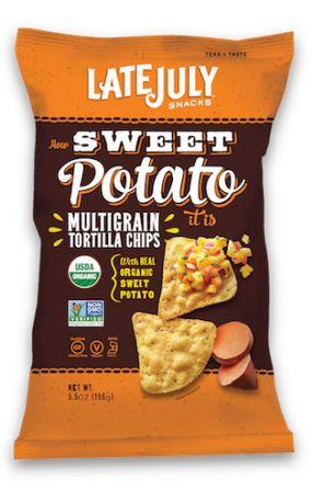 Late July Organic Multigrain Snack Chips - Sweet Potato