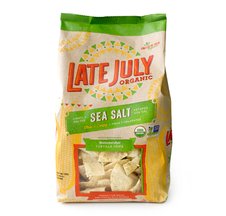 Late July Organic Tortilla Chips with Sea Salt