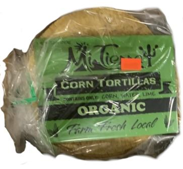 Mi Tierra Fresh Organic Corn Tortillas
