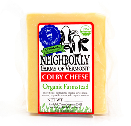 Neighborly Farms Organic Colby Cheese