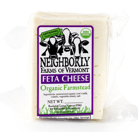 Neighborly Farms Organic Cow's Milk Feta Cheese
