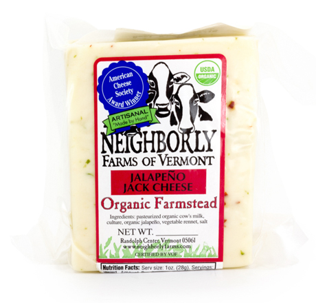 Neighborly Farms Organic Jalapeno Monterey Jack