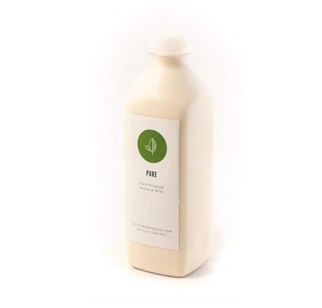 Nectar & Green Almond Milk, Pure, 32 oz