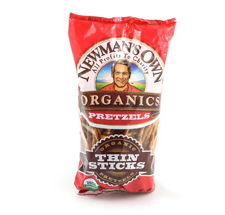Newman's Own Organics Organic Thin Pretzel Sticks