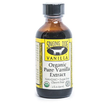 Singing Dog Vanilla Pure Organic Vanilla Extract