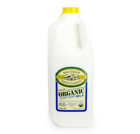 Shaw Farm Organic Fat Free Milk
