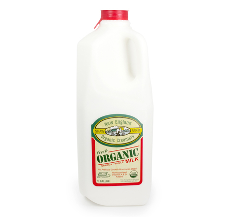 Shaw Farm Organic Whole Milk