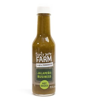 Thirty Acre Farm Organic Fermented Hot Sauce, Jalapeno Business