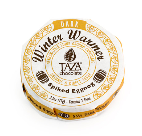 Taza Chocolate Organic Mexicano Disc Spiked Eggnog