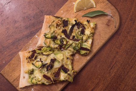 Brussels Sprout & Pancetta Flatbread