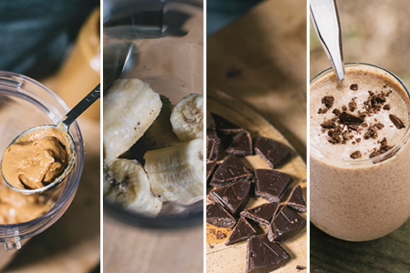 Peanut Butter and Banana Dairy-Free Ice Cream